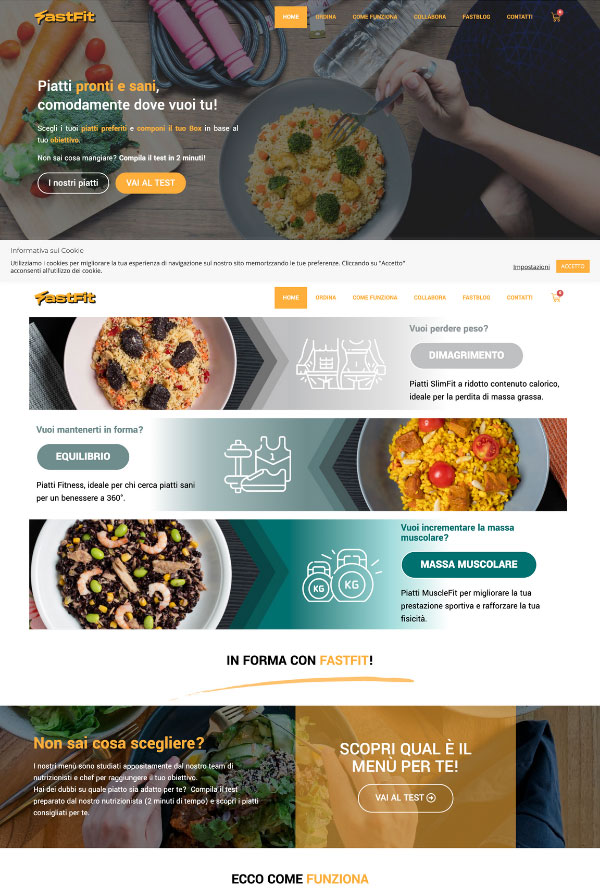 Fastfit website > Web DesignFastfit website > Web Design
